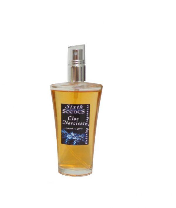 Cloe Narcisse (Chloé) spray perfume shown in 100ml